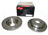 LR031844 BG4021C Coated Delphi Pair Rear Brake Discs
